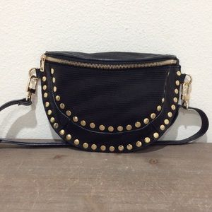 Chelsey Comfort - Studded Leather Bag